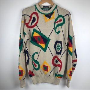 Vintage 90s Knit Oversized Sweater